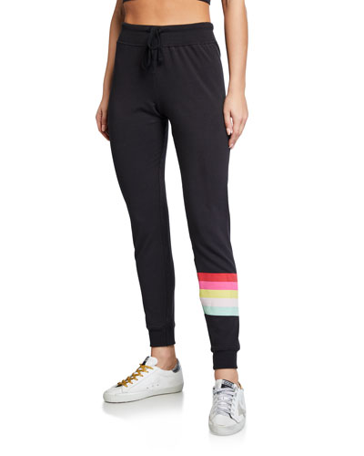Muse Side-Stripe Jogger Pants