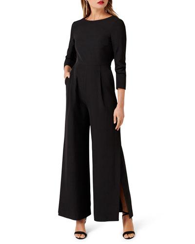 788156556a Wide Leg Jumpsuit | Neiman Marcus