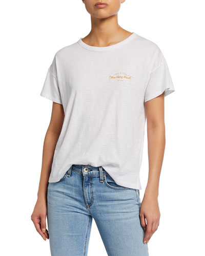e74d7a2ae Quick Look. Rag & Bone · Very Best Vintage Crewneck Short-Sleeve T-Shirt.  Available in White