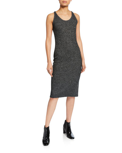 Clara Torqued Racerback Dress