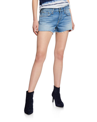 Cate Mid-Rise Shorts