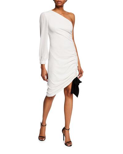 a313f9e4b2f Left Shoulder Dress | Neiman Marcus