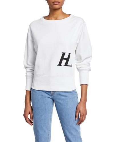 Femme Logo Crew Sweatshirt