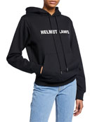 Helmut Lang Helmut Laws Graphic Pullover Hoodie