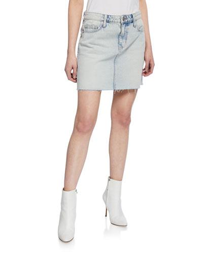 The 5-Pocket Denim Mini Skirt