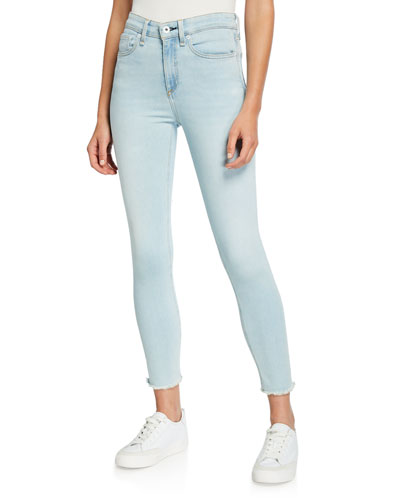 Nina High-Rise Skinny Crop Jeans