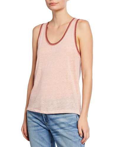 Molly Scoop-Neck Tank
