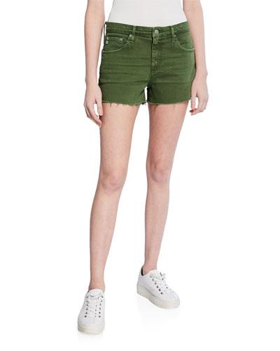 The Hailey High-Rise Cutoff Shorts