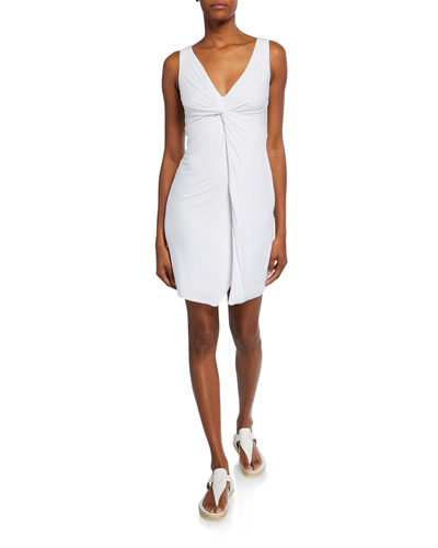 Badlands Sleeveless Twist-Front Dress