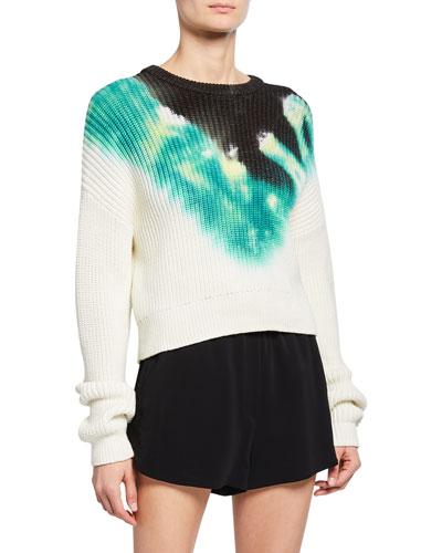 Elinor Tie-Dye Crewneck Sweater