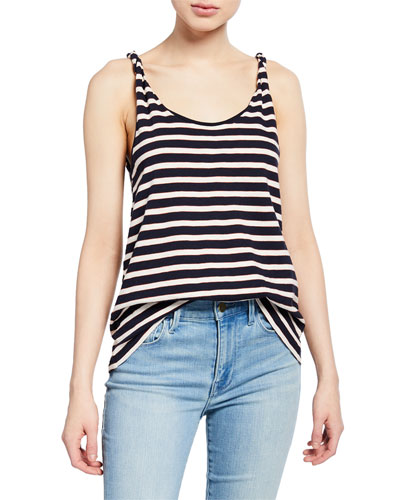 The Twisted Striped Tank