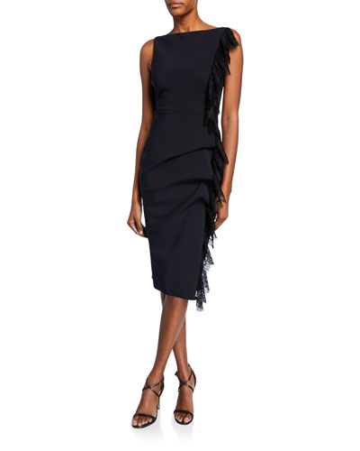 d47cbbf30 High-neck Sleeveless Dress | Neiman Marcus
