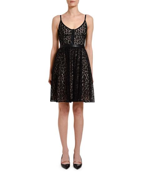 No. 21 Lace Mini Dress