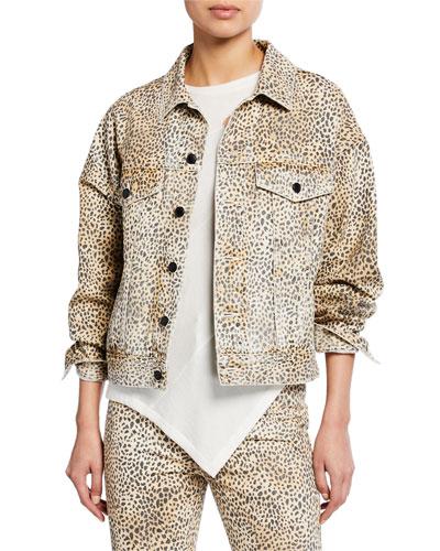Game Cheetah-Print Jacket