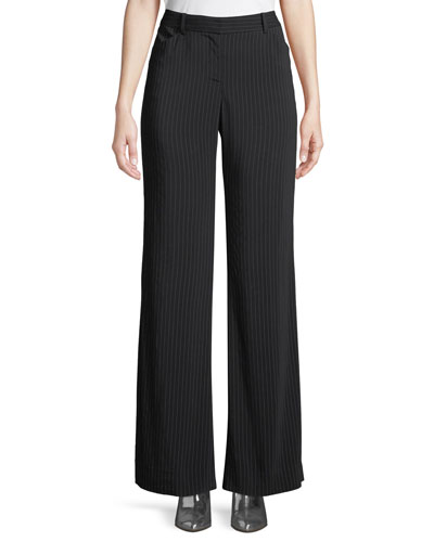 Courtnie Pinstripe Pants