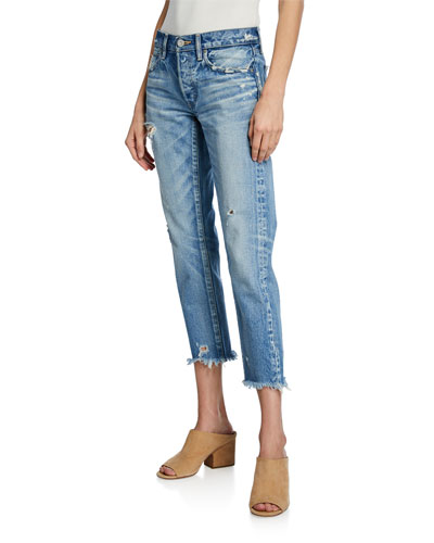 Kelley Tapered Cropped Jeans