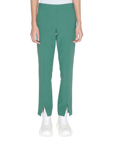 Menswear Stretch Suiting Cropped Pants