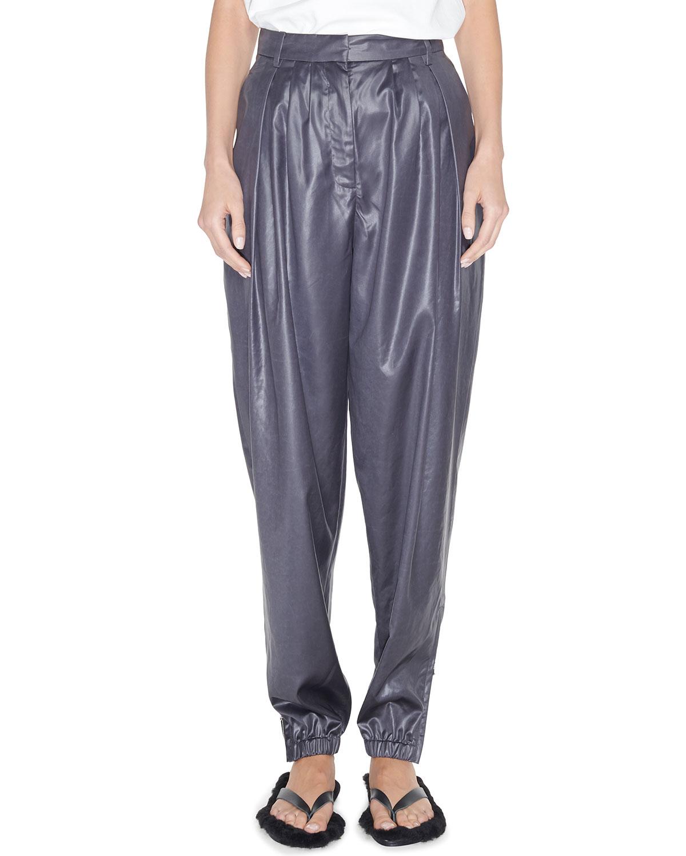Tibi Pants PLEATED TAPERED PANTS
