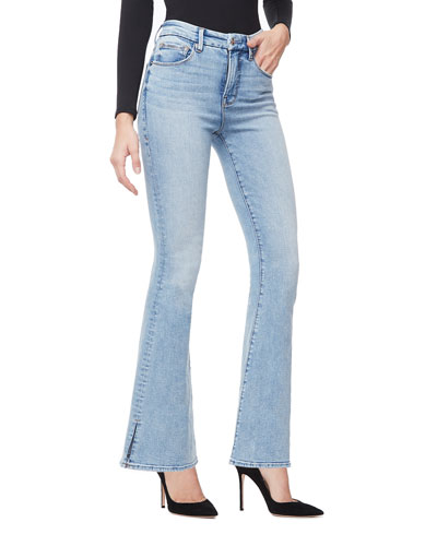 Duster Flare Jeans - Inclusive Sizing