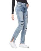 Good American Good Boy Rip/Repair Jeans - Inclusive