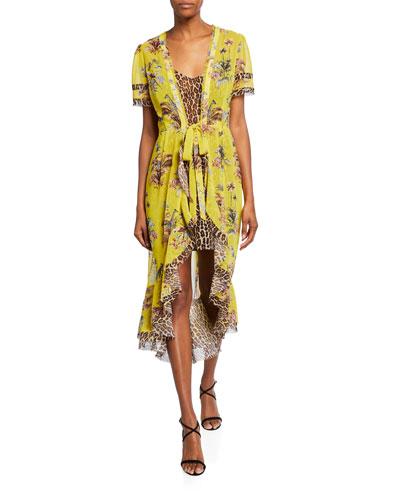 4c8888b8 Tie Waist Dress | Neiman Marcus