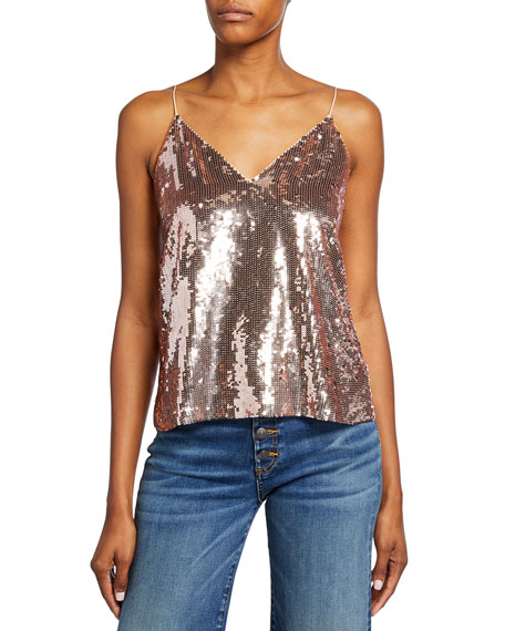 Veronica Beard Coda Sequin Cami