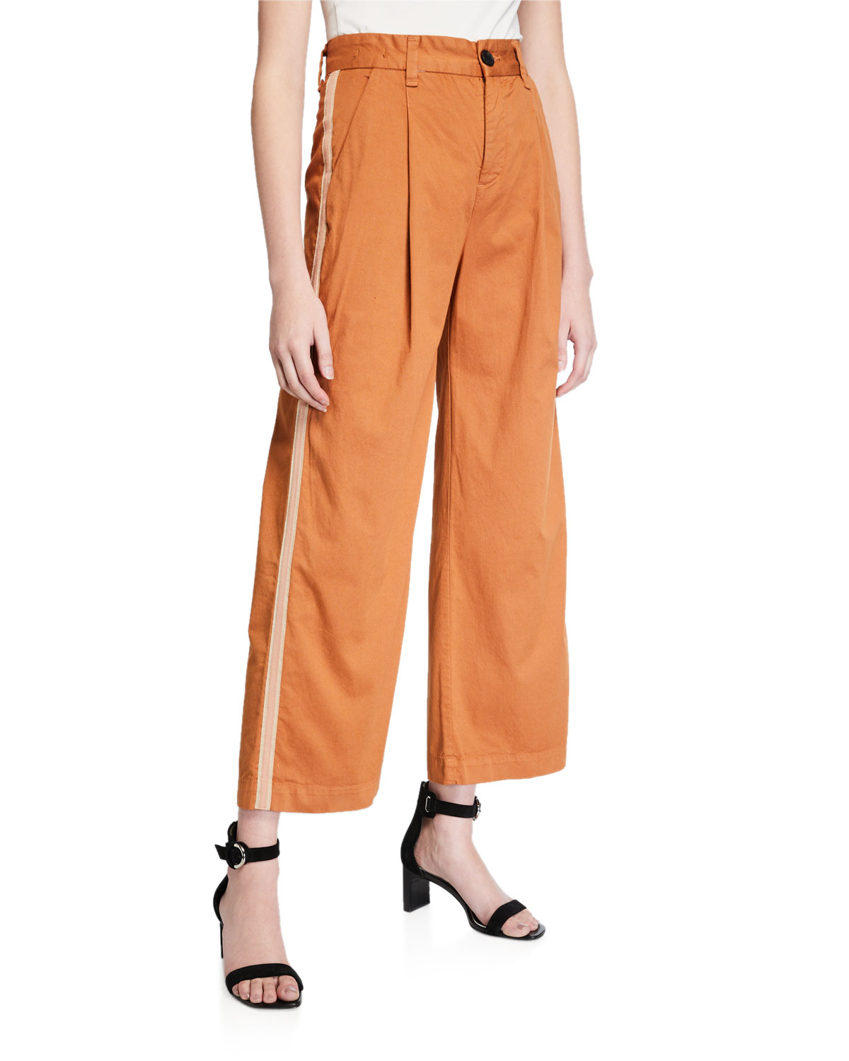 Veronica Beard Pants RYDER PLEAT FRONT PANT W TUX