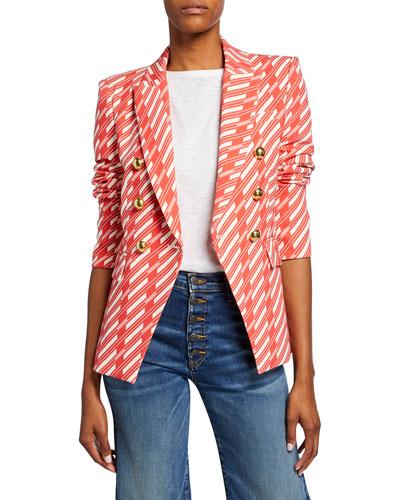 Miller Striped Dickey Jacket