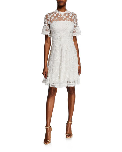 bd5a53a668c64 Imported White Dress | Neiman Marcus
