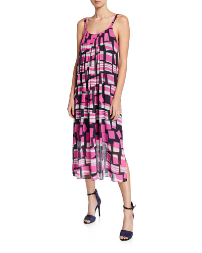 Petite Block Party Maxi Dress