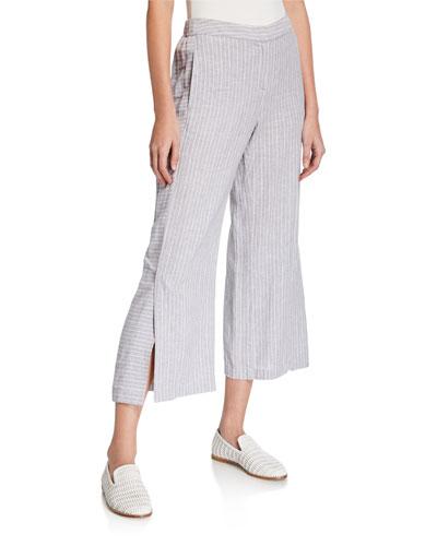 Petite Central Park Striped Pants