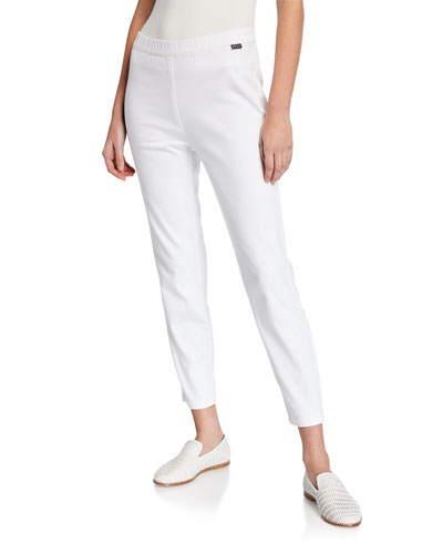 Pandy High-Rise Denim Ankle Trousers