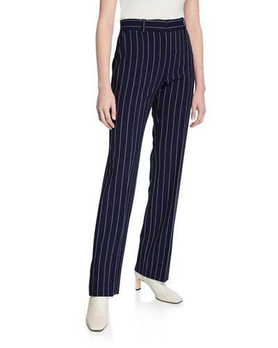 Pinstripe City Pants