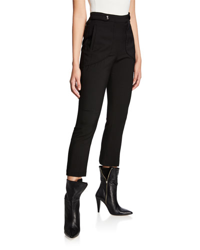 Sauly High-Rise Skinny Pants