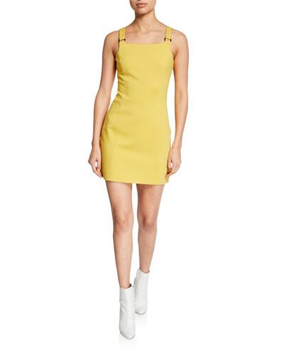 380e0b6865 Yellow Sheath Dress