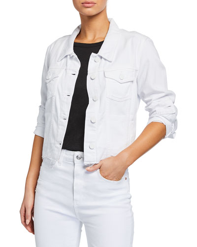 Vivienne Relaxed Jacket with Raw Hem