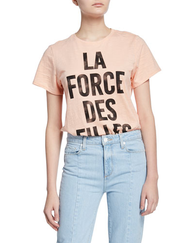 Girl Power Short-Sleeve Graphic Tee