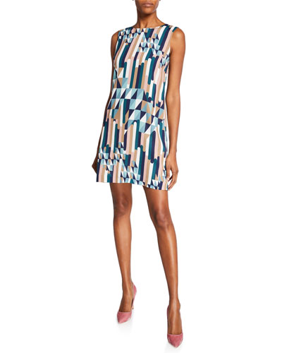 79db7f65da7ea8 Quick Look. M Missoni · Broken Stripe Sleeveless Mini Dress