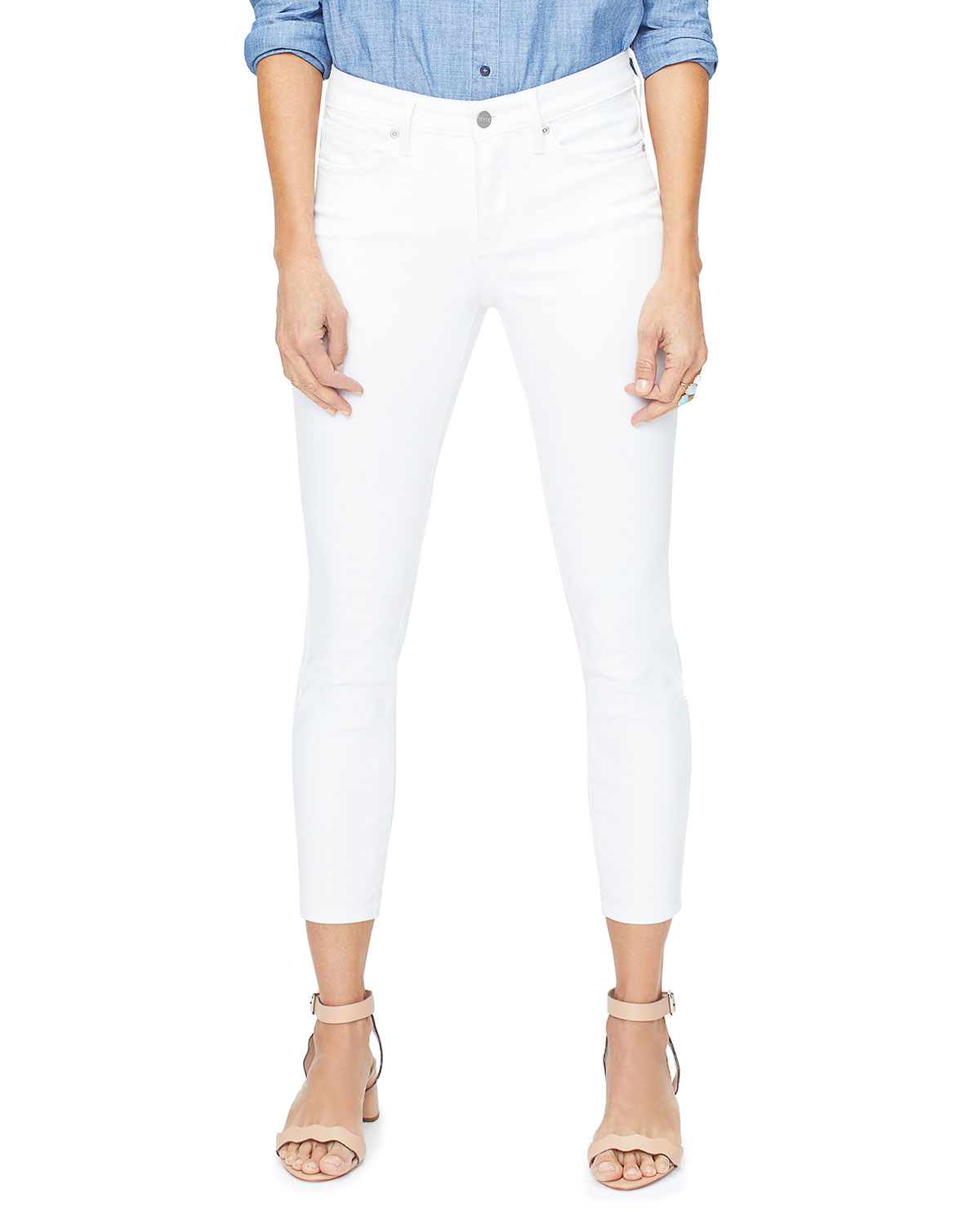 Nydj Jeans AMI CROPPED SKINNY ANKLE JEANS