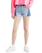 Levi's Premium 501 Patchwork Denim Shorts