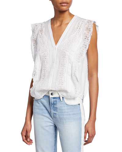 buy arrives outlet online Frame Contemporary Sleeveless Top | Neiman Marcus