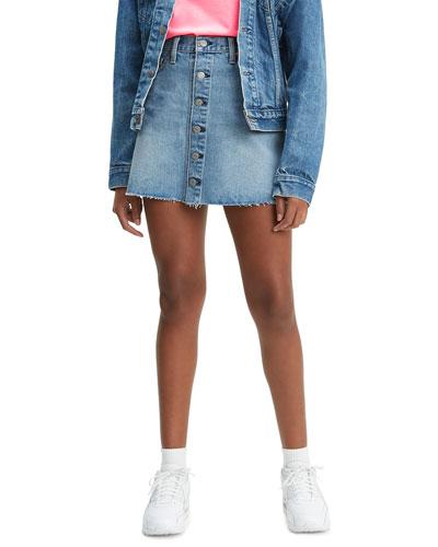 6a19f68102 Denim Mini Skirt   Neiman Marcus