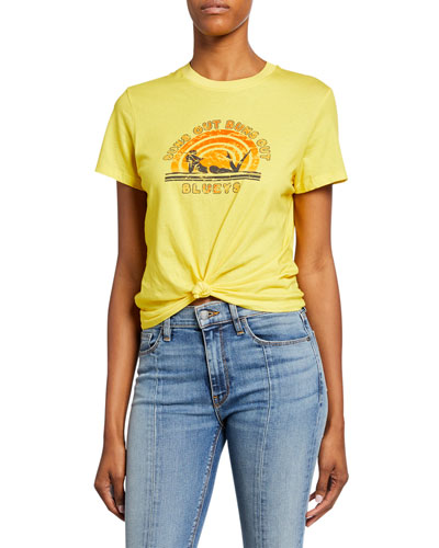 Goldie Suns Out Short-Sleeve Graphic Tee