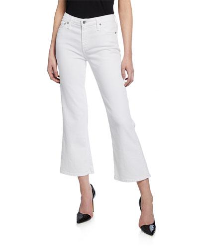 Quinne Crop Mini Flare Jeans