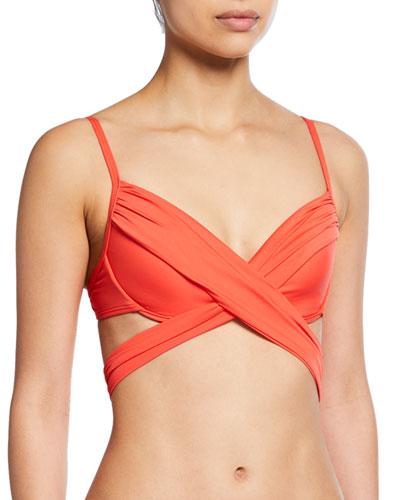 Island Wrap Underwire Bikini Top