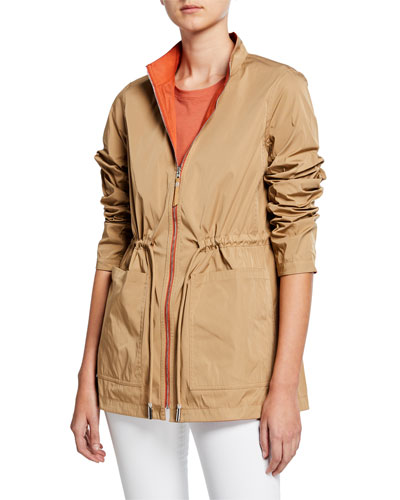Palomina Eclipse Outerwear Reversible Zip-Front Jacket