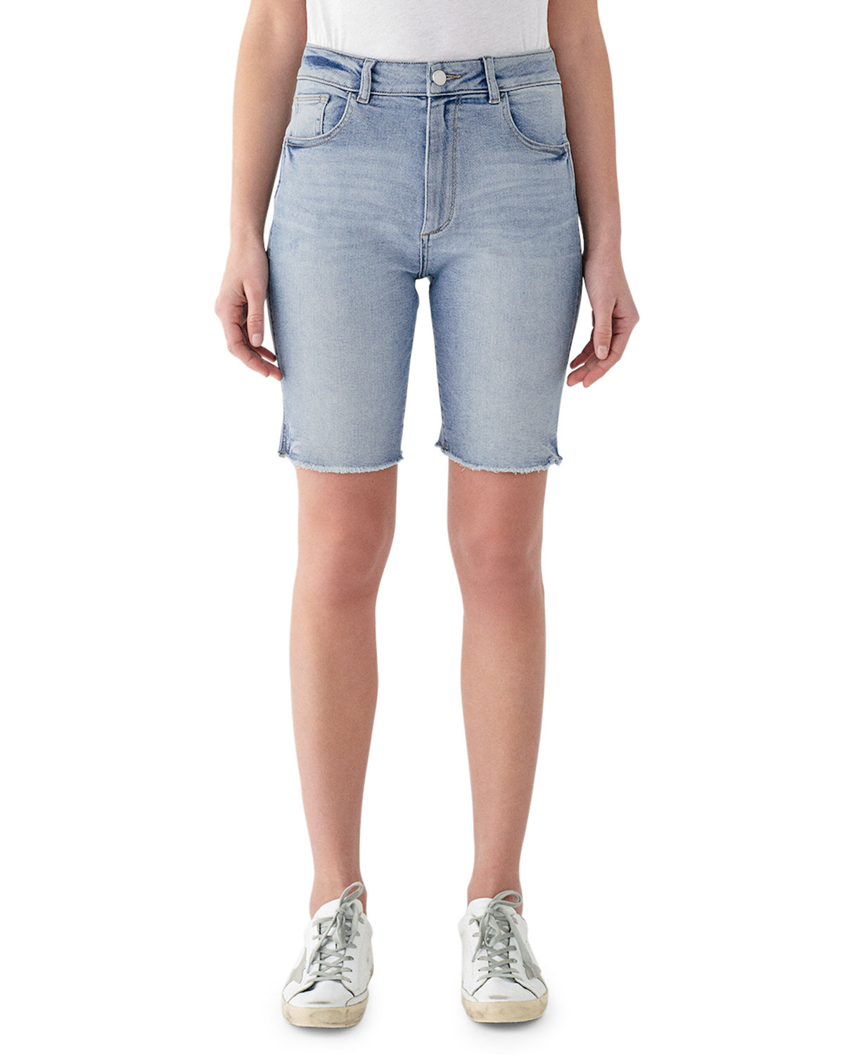 Dl Premium Denim Shorts JERRY HIGH-RISE VINTAGE SLIM BERMUDA SHORTS