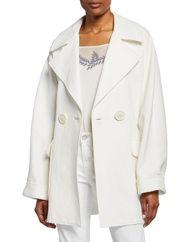 Amelie Double-Breasted Jacket with Belt