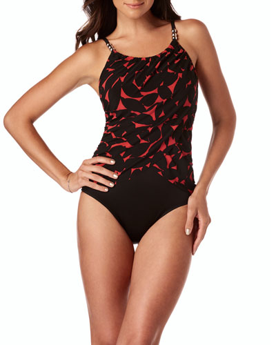 Lisa Printed One-Piece Swimsuit