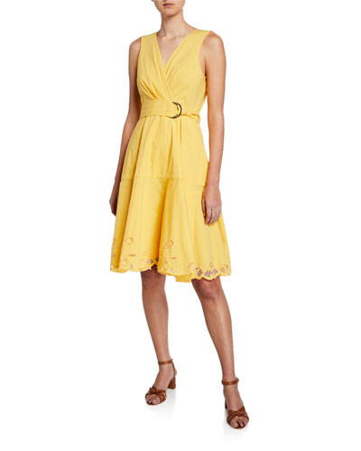f5d72febcc9f6 Belted A Line Dress | Neiman Marcus